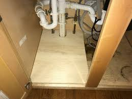 how to replace cabinet base sink sink cabinet repair the honest carpenter