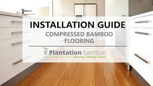 Laminate Flooring Nz Installation Guide Compressed Bamboo Flooring Youtube
