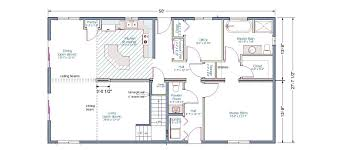 1300 Sq Ft House 46 Ranch Floor Plan For 1400 Foot Home House Plan French Flair