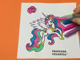 let u0027s color mlp princess celestia my little pony coloring page