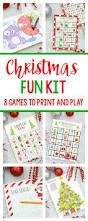 christmas fun kit christmas fun activities and plays
