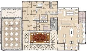 Restaurant Floor Plan With Dimensions Hotel Lobby Floor Plan Dimensions