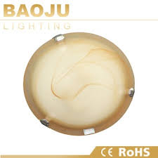Yellow Glass Ceiling Light Decoration Design Light Round Glass Ceiling Light Covers Led
