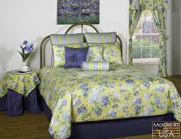 Blue Yellow Comforter Yellow And Blue Bedding Blue And Yellow Historic Charleston
