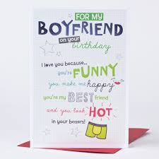 happy birthday cards for him birthday cards for boyfriend