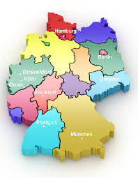 Stuttgart Germany Map by The Investment Golden B
