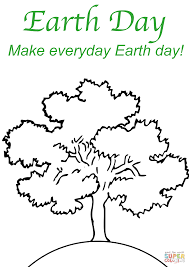 make everyday earth day coloring page free printable coloring pages