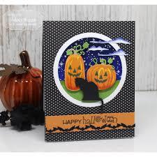 halloween dies taylored expressions dies skinny mini halloween borders ellen