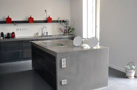 cuisine beton ciré cuisine en béton ciré cuisine en béton ciré interiors