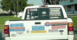 jeep douchebag meme what u0027s up with lefties and the excessive bumper sticker meme