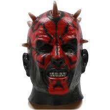 Darth Maul Mask Star Wars Darth Maul Cosplay Latex Mask Halloween Mask