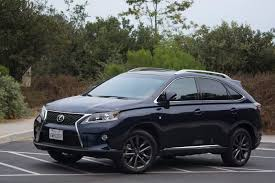 lexus sport 2013 2013 lexus rx f sport review video