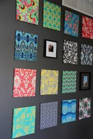 Home Made Wall Decor Best 25 Fabric Covered Walls Ideas On Pinterest Fabric Wall