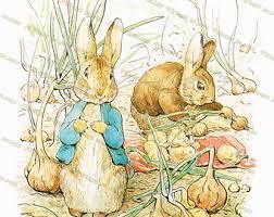 digital clip art mother rabbit beatrix potter peter