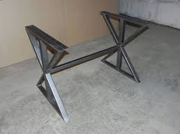 Best  Iron Table Legs Ideas On Pinterest Industrial Table - Metal table base designs
