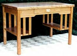Mission Furniture Desk Mission Library Desk Mission Oak Arts Crafts Library Table Desk C