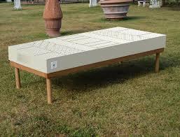 materasso 100 lattice naturale materasso alto 22 cm in lattice naturale