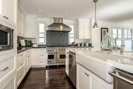 this large open kitchen has been upgraded with custom made
