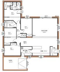 plan maison plain pied 100m2 3 chambres maison individuelle c t a de plain pied avec 3 chambres 100 m