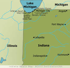Indiana beaches images Indiana beach map indiana beaches map jpg