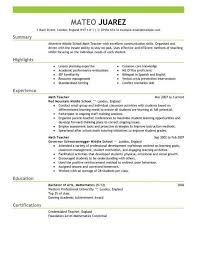 early childhood teacher resumes here you need to put your identity which consists of your daycare