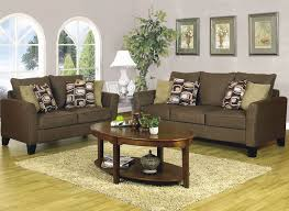dark brown living room furniture sofas would be a little darker i would some light yellow pillows