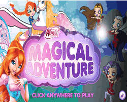 play free winx club magical adventure winx club games