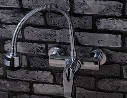 Kitchen Faucets Single Handle With Sprayer by Wall Mount Kitchen Faucet With Sprayer Home Furniture
