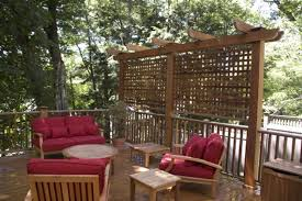 Backyard Privacy Screen by Garden Design Garden Design With Privacy Screens On Pinterest