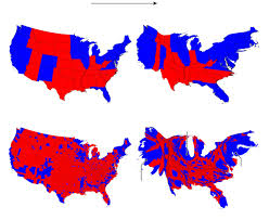 Blank Electoral Map by Election Maps Are Telling You Big Lies About Small Things