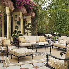 Fortunoffs Outdoor Furniture by Furniture Stylish Frontgate Outdoor Furniture With Dark Rattan On