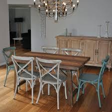 industrial kitchen furniture luxury industrial kitchen table industrial dining table w 6 cross