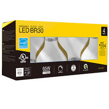 Led Light Bulbs For Recessed Cans by Br30 Dimmable Led Light Bulb Torchstar