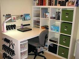 Corner Craft Desk Craft Desk With Storage Jamiltmcginnis Co