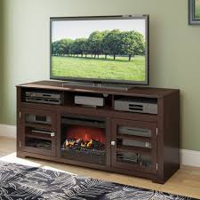 dcor design west lake tv stand with electric fireplace reviews tv