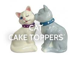 cat wedding cake topper buy animal wedding cake toppers online animal cake tops cakes