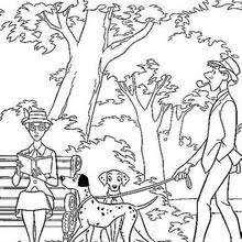 dalmatians family coloring pages hellokids com
