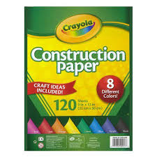 crayola construction paper 120 sheets walmart