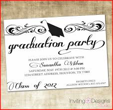 invitation designs awesome graduation party invitation template stock of invitation