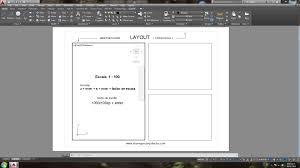 layout en español como se escribe escala en layout viewports autocad arquitecto en zempoala