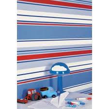 blue red white 10666 poppins stripe kids holden decor