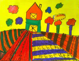 Wayne Thiebaud Landscapes by Kids Art Market Pattern Landscapes With Wayne Thiebaud