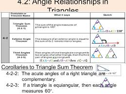4 2 angle relationships in triangles ppt download