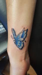semicolon butterfly memorial for my boyfriend done by casey hart at