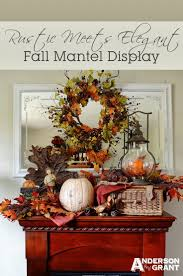 Elegant Mantel Decorating Ideas by 487 Best Autumn Decor Ideas Images On Pinterest Fall Fall