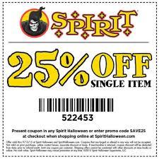 Halloween Costumes Promo Code Spirit Halloween Coupon Grab Printable Coupons