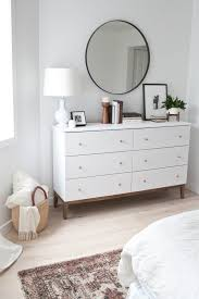 Decorating Bedroom Dresser Decorating A Chest Of Drawers