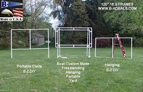 Backyard Projector Screen by Projection Screen Frames And Accessories From Www B Adeals Com
