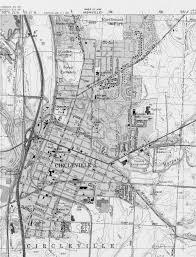 Chillicothe Ohio Map by James Q Jacobs Hopewell Study Resources