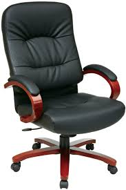 Wood Swivel Desk Chair by Home Office Home Office Chair Industrial Desc Kneeling Chair